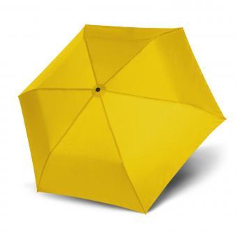 doppler Zero Magic Leichtester Auf-Zu Automatik Taschenschirm uni yellow