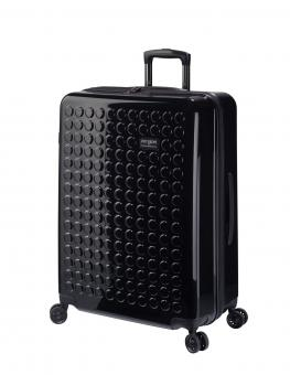 Dot-Drops Chapter 2 extra-light Trolley L 4R 73cm, kreativ individualisierbar Black