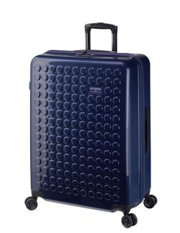Dot-Drops Chapter 2 extra-light Trolley L 4R 73cm, kreativ individualisierbar Ink Blue