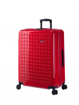 Dot-Drops Chapter 2 extra-light Trolley L 4R 73cm, kreativ individualisierbar Torch Red