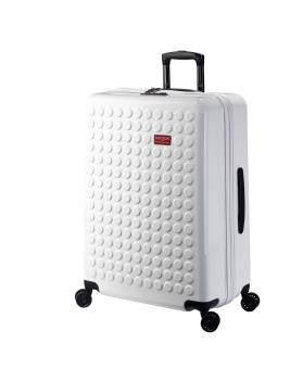 Dot-Drops Chapter 2 extra-light Trolley L 4R 73cm, kreativ individualisierbar White