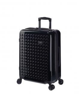 Dot-Drops Chapter 2 extra-light Trolley M 4R 63cm, kreativ individualisierbar Black