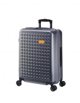 Dot-Drops Chapter 2 extra-light Trolley M 4R 63cm, kreativ individualisierbar Business Grey