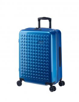 Dot-Drops Chapter 2 extra-light Trolley M 4R 63cm, kreativ individualisierbar Ice Blue