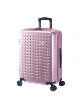 Dot-Drops Chapter 2 extra-light Trolley M 4R 63cm, kreativ individualisierbar Pale Rose
