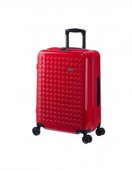 Dot-Drops Chapter 2 extra-light Trolley M 4R 63cm, kreativ individualisierbar Torch Red