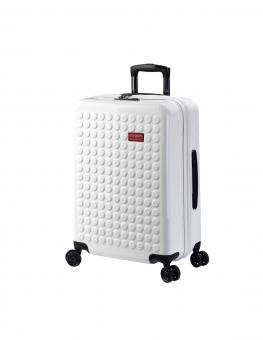 Dot-Drops Chapter 2 extra-light Trolley M 4R 63cm, kreativ individualisierbar White