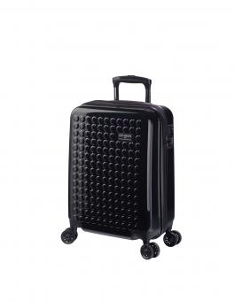 Dot-Drops Chapter 2 extra-light Trolley S 4R 55cm, kreativ individualisierbar Black