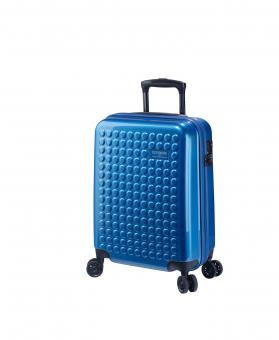 Dot-Drops Chapter 2 extra-light Trolley S 4R 55cm, kreativ individualisierbar Ice Blue