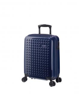 Dot-Drops Chapter 2 extra-light Trolley S 4R 55cm, kreativ individualisierbar Ink Blue