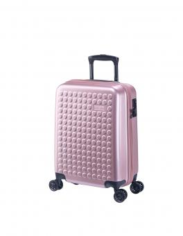 Dot-Drops Chapter 2 extra-light Trolley S 4R 55cm, kreativ individualisierbar Pale Rose