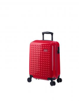 Dot-Drops Chapter 2 extra-light Trolley S 4R 55cm, kreativ individualisierbar Torch Red