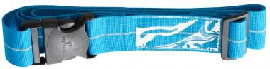 Eagle Creek Travel Essentials Reflective Luggage Strap brilliant blue