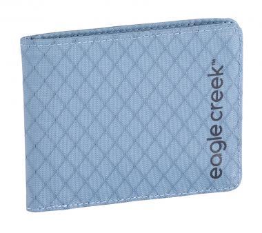 Eagle Creek Travel Security RFID Bi-Fold Wallet Artic Blue