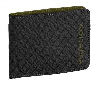 Eagle Creek Travel Security RFID Bi-Fold Wallet Jet Black