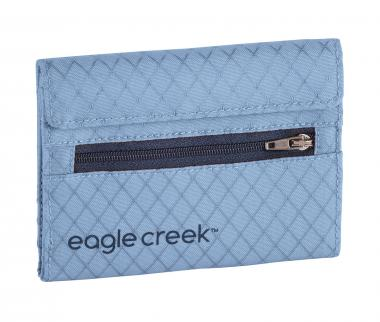 Eagle Creek Travel Security RFID International Tri-Fold Wallet Artic Blue