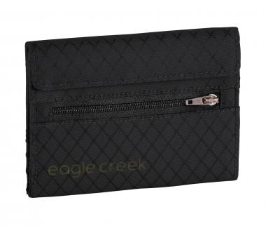 Eagle Creek Travel Security RFID International Tri-Fold Wallet Jet Black