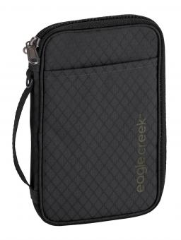 Eagle Creek Travel Security RFID Travel Zip Organizer Jet Black