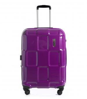 epic Crate EX Trolley M 66cm 4w Expandable purplePASSION