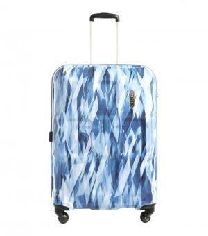 epic Crate EX *Diamond* Trolley L 76cm 4w Expandable diamond Blue