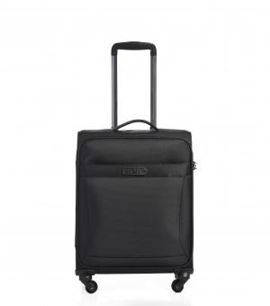 epic Quantum 55cm Cabin Trolley 4w Black