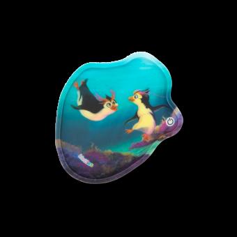ergobag Kletties Blinkie-Klettie mit LED Pinguine