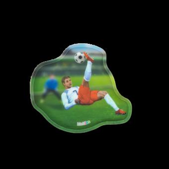 ergobag Kletties Kontur-Klettie Fußballstürmer
