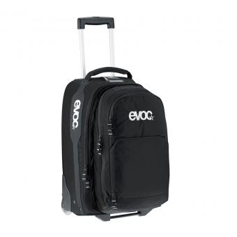 evoc City & Travel Trolley mit 2 in 1 Rucksack Black