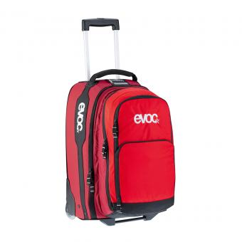 evoc City & Travel Terminal Bag M mit 2 in 1 Rucksack Red Ruby