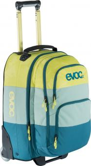 evoc City & Travel Trolley mit 2 in 1 Rucksack Multicolor