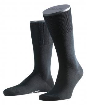 Falke Airport Herren Socken 47-48 black