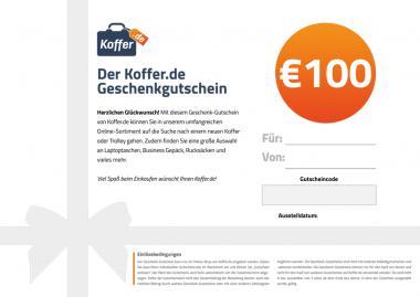 €100 Geschenkgutschein Allgemein