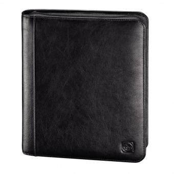 "Hama Est. 1923 Amsterdam Tuesday Lederorganizer A5 mit Tablet-Hülle 10.1"" Rustic Dark Brown"