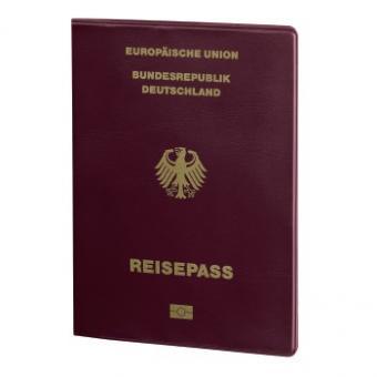 Hama Hamburg Reisepass und Kreditkarten- Datenschutzhülle mit RFID-Schutz