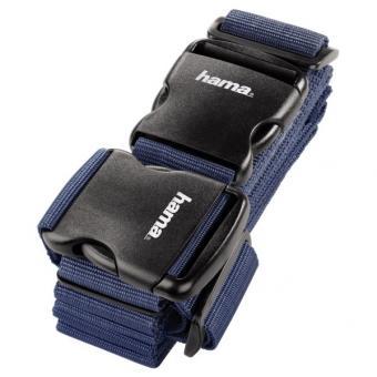 Hama 2-Wege-Gepäckgurt, 5 x 200cm / 5 x 230cm Dunkelblau