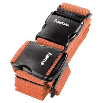 Hama 2-Wege-Gepäckgurt, 5 x 200cm / 5 x 230cm Orange