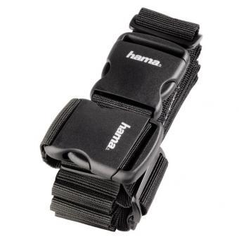 Hama 2-Wege-Gepäckgurt, 5 x 200cm / 5 x 230cm Schwarz