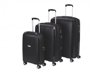 Hardware Bubbles 2018 3-teiliges Trolley-Set black