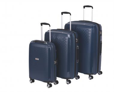 Hardware Bubbles 2018 3-teiliges Trolley-Set dark blue