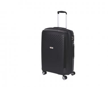 Hardware Bubbles 2018 Trolley M 4R 69cm, erweiterbar black