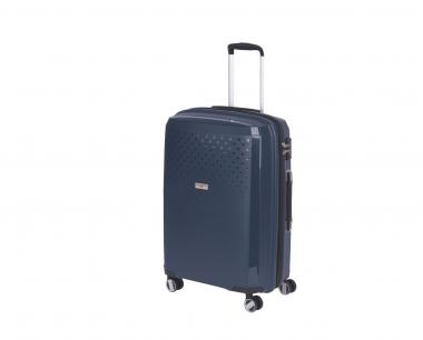 Hardware Bubbles 2018 Trolley M 4R 69cm, erweiterbar dark blue