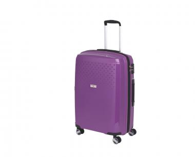 Hardware Bubbles 2018 Trolley M 4R 69cm, erweiterbar purple
