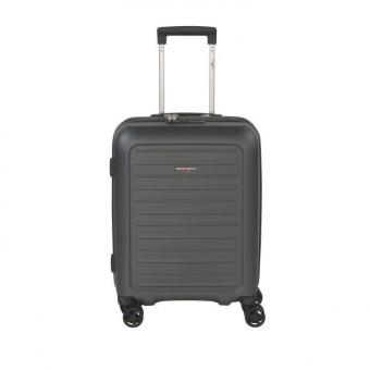 Hardware Impact Cabin Trolley S 4R 54 cm Steel Grey