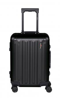 Hardware Profile Plus Alu Trolley S, Cabin Size, 4 Rollen Black