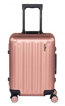 Hardware Profile Plus Alu Trolley S, Cabin Size, 4 Rollen Rosé Gold