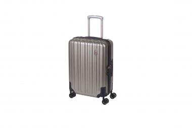 Hardware Profile Plus Volume Cabin Trolley S 4R 55cm metallic grey brushed