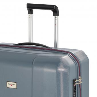 Hardware Airtech Trolley S Cabin Size, 4-Rollen Techno Grey