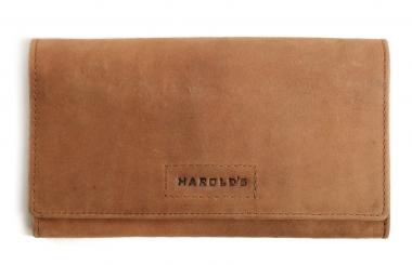 Harold's Antic Accessories Börse L natur