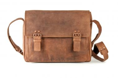 Harold's Antic Copper Kuriertasche S natur