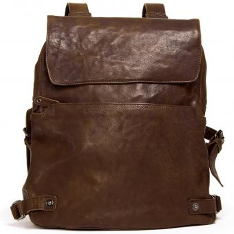 Harold's R.Johnson Notebook-Rucksack Braun